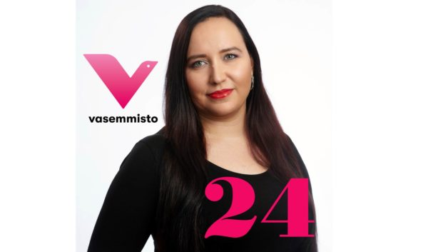 Maarit Koivisto Eduskuntaan 2019
